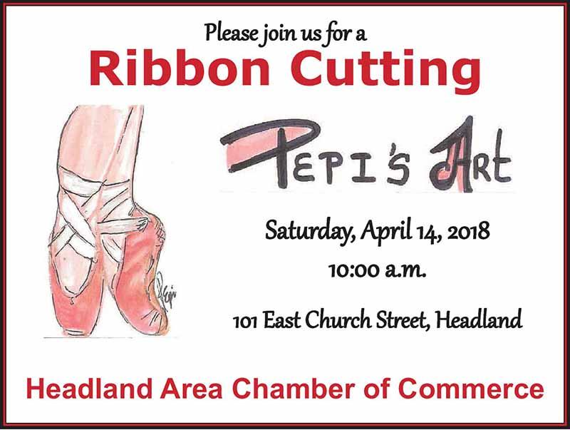2018 04 14 Ribbon Cutton Pepi Art