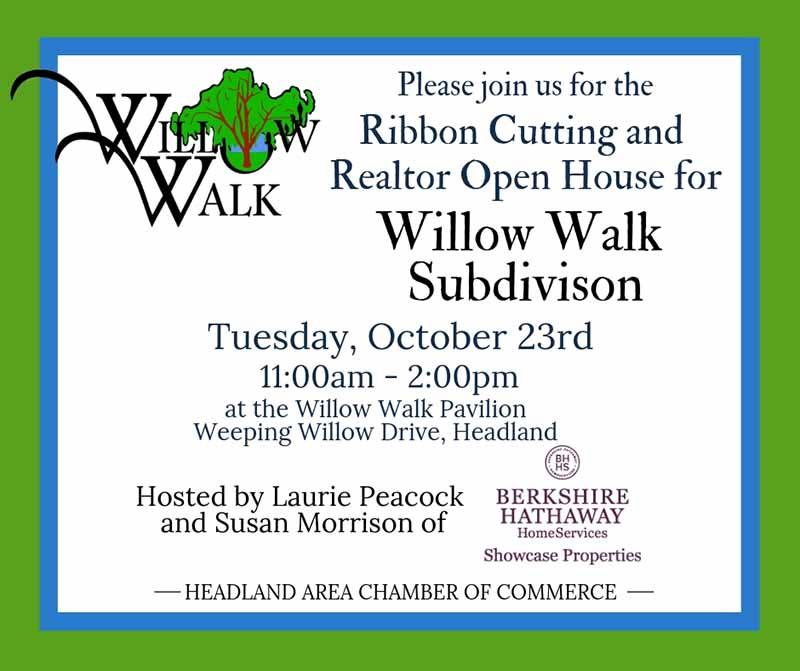 2018 10 23 11am HCOC Willow Walk Ribbon Cutting