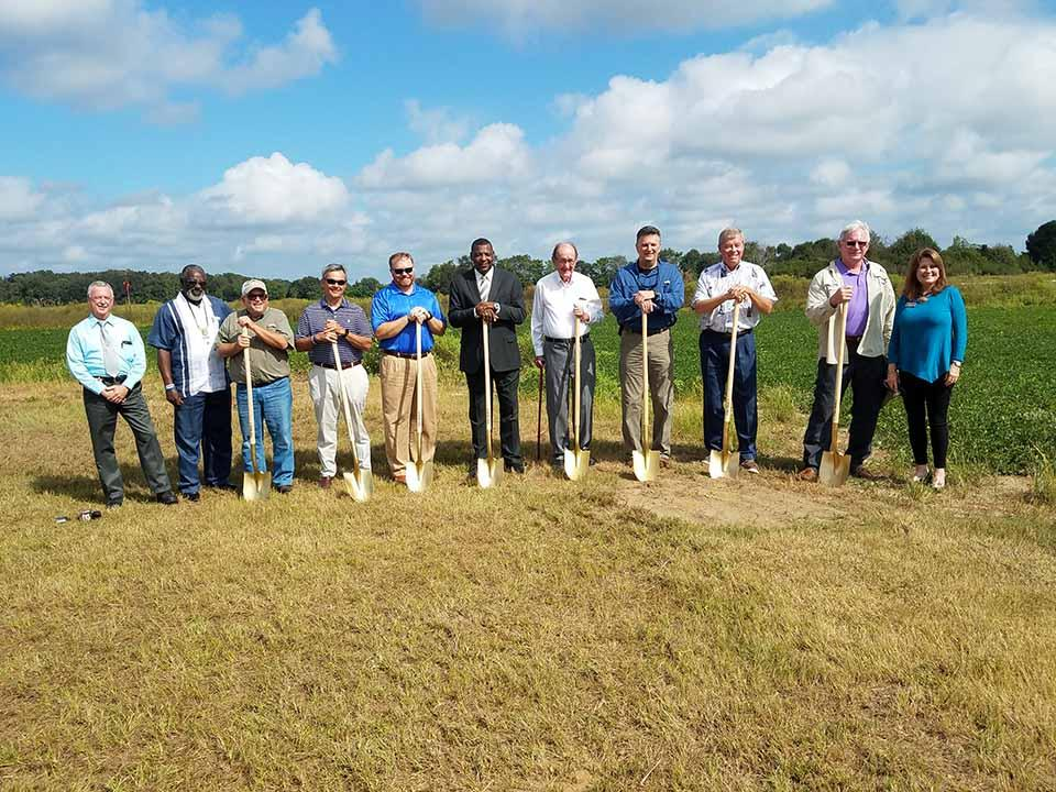 2018 headland airport taxiway groundbreaking