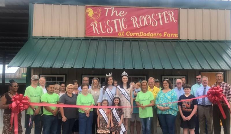 2018 10 grand opening Corn Dodgers Rustic Rooster