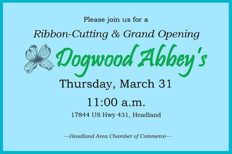 2016 03 31 grand opening dogwood abbey